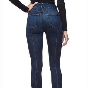 Good American Good Legs Crop Skinny 26 MSRP $169